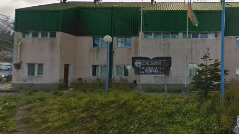 Ushuaia: Permanecerá cerrada la sede central del Registro Civil