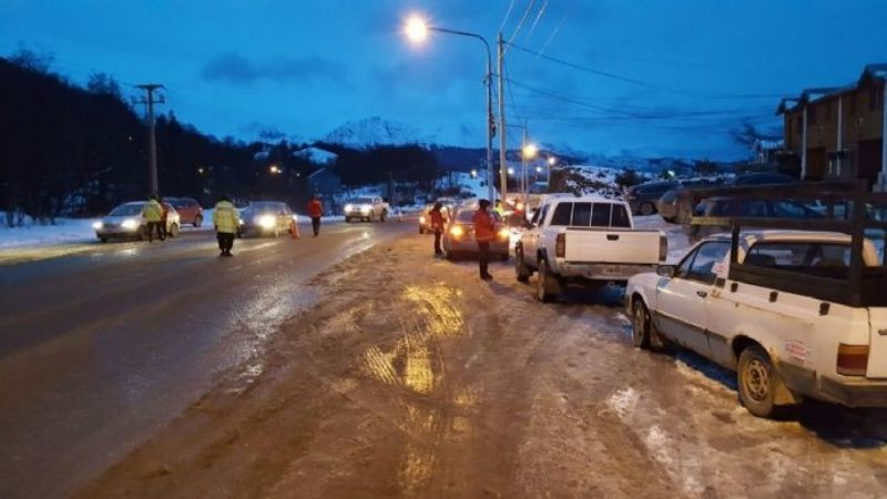 Ushuaia: Múltiples accidentes con conductores alcoholizados