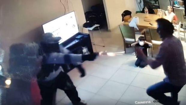 Un vecino de Ushuaia se enfrentó cuerpo a cuerpo con tres ladrones armados