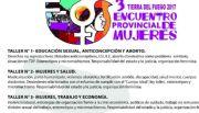 Tercer Encuentro Provincial de Mujeres en Tierra del Fuego