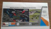 Presentaron la obra para el nuevo acceso a la urbanización Río Pipo