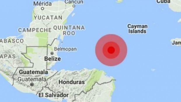 Sismo de magnitud 7,6 se registró en la costa del Caribe