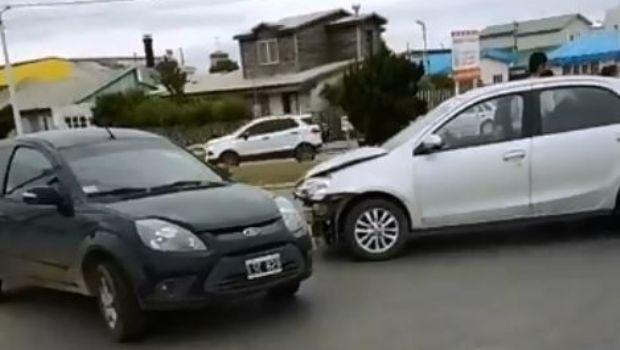 Violento accidente en Rotonda de las Américas en Río Grande