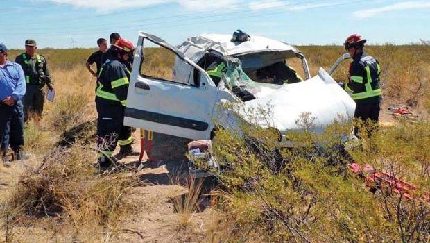 Gravísimo accidente de matrimonio fueguino en Ruta 3