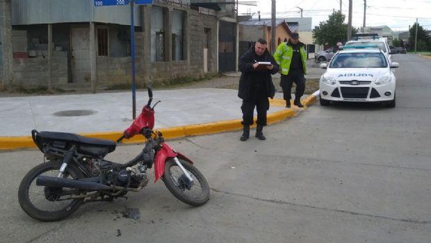 Recuperan una moto robada en Río Grande