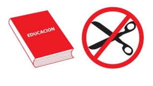 Repudian el recorte irracional del gobierno en Educación