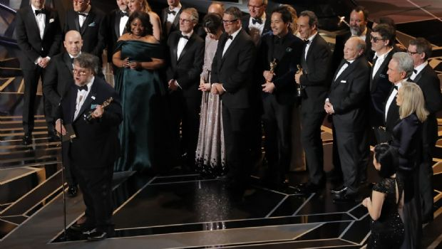 """El film """"La forma del agua"""" brilló anoche en los Oscar"""
