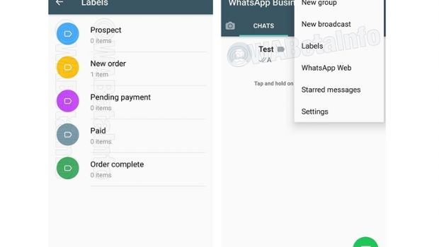 WhatsApp añade etiquetas para organizar tus conversaciones