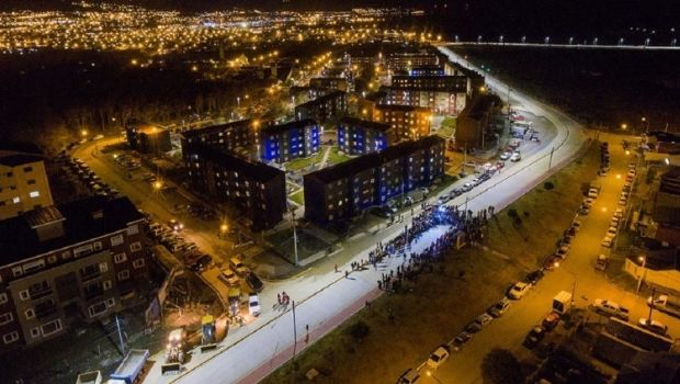 Inauguraron en Ushuaia la nueva avenida Hipólito Yrigoyen