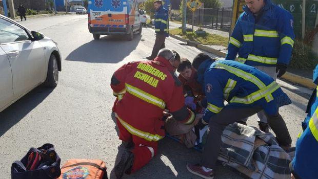 Atropellaron a una mujer en Ushuaia