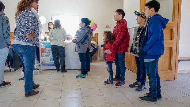 """Realizaron nueva jornada de """"Salud divertida"""" en Tolhuin"""