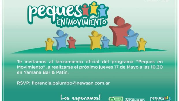 """Anuncian del Programa """"Peques en Movimiento"""""""