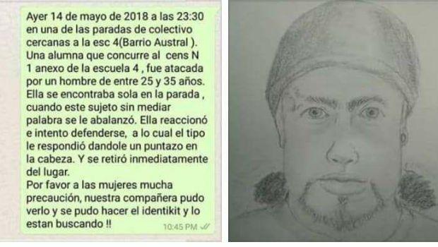 Alerta por ataques a mujeres jóvenes en calles de Río Grande