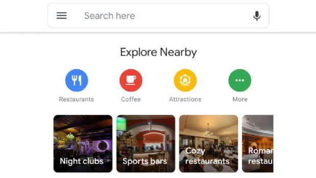 """Google Maps actualiza su interfaz y es mucho más """"limpia"""""""