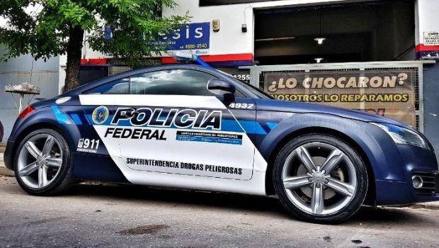 """Policía Federal incorpora un flamante Audi TT para """"perseguir narcos"""" en el norte del país"""