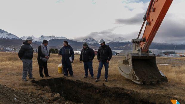 Inician estudios de suelo en predio donde se construirá edificio legislativo