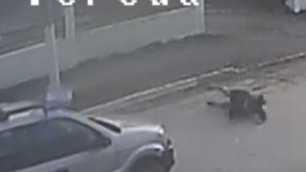 Una mujer fue brutalmente atropellada por un taxi en Tolhuin