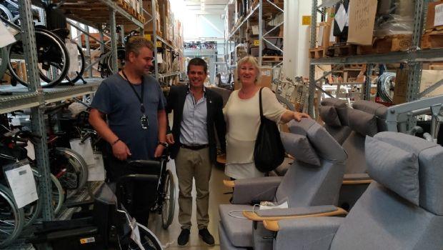 Municipio avanza en la inclusión de personas con Discapacidad