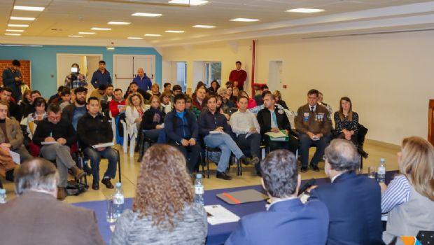 Arcando participó de presentación del Representante Oficial de la Provincia para la Cuestión Malvinas