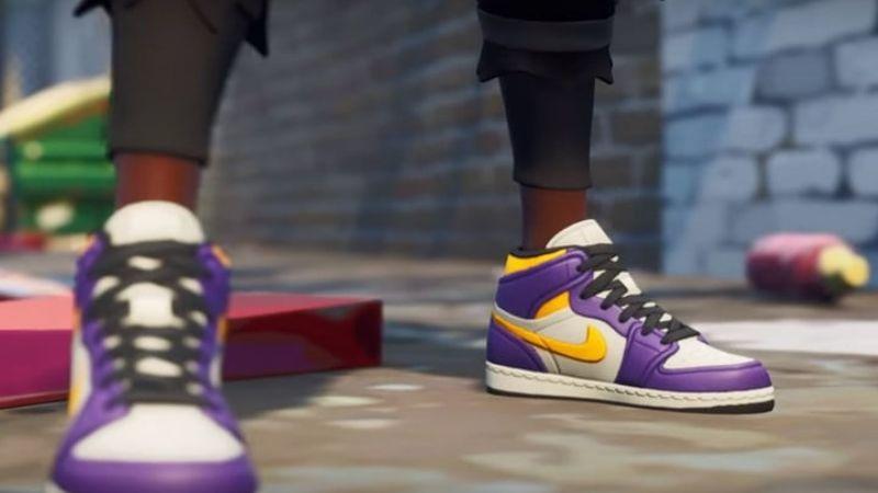 Con Para Nike Virtuales Zapatillas Crear Se Unió Fortnite lK5TcuF13J