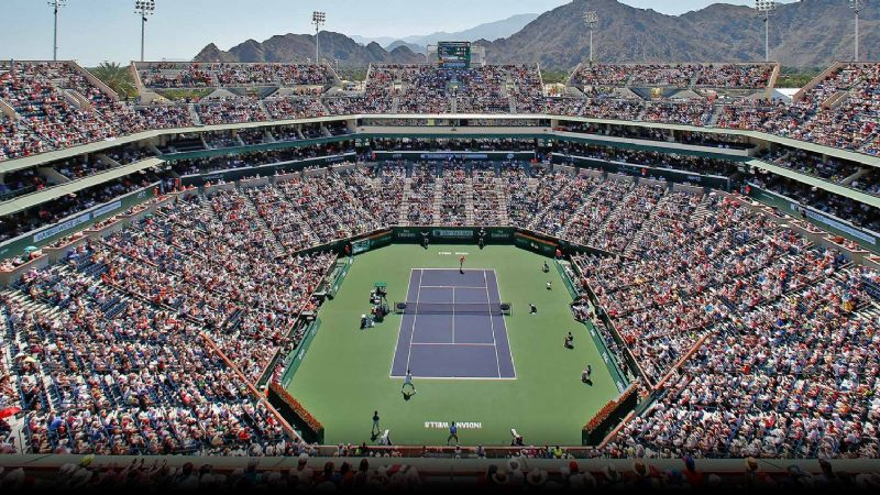 Suspenden el Masters 1000 de Indian Wells por el conoravirus