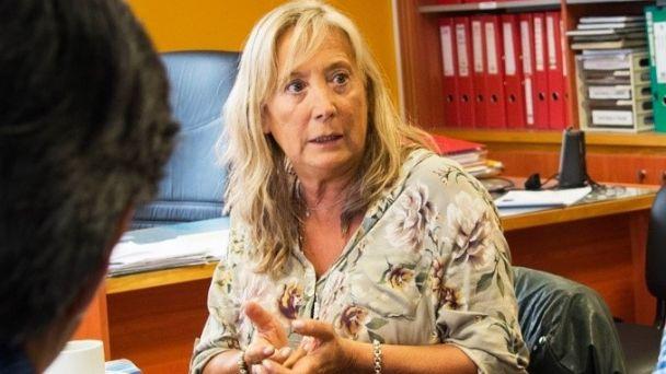 Dra. Adriana Chapperón, ministra de Gobierno y Justicia TDF AIAS